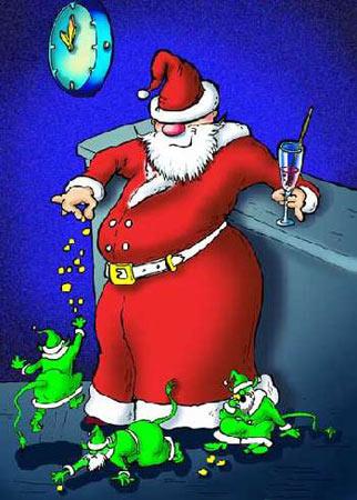 Дед мороз к встрече нового года - готов