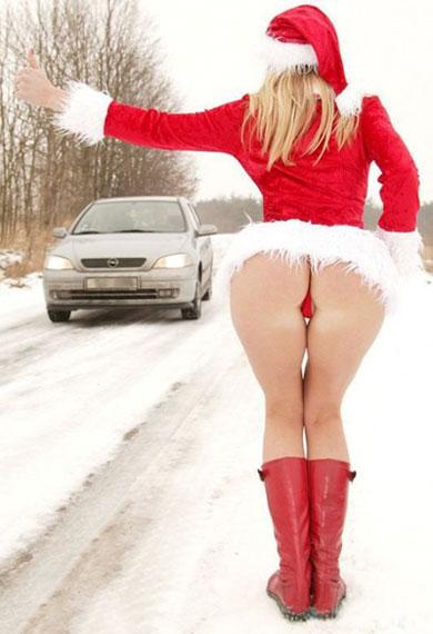 Подвези снегурку