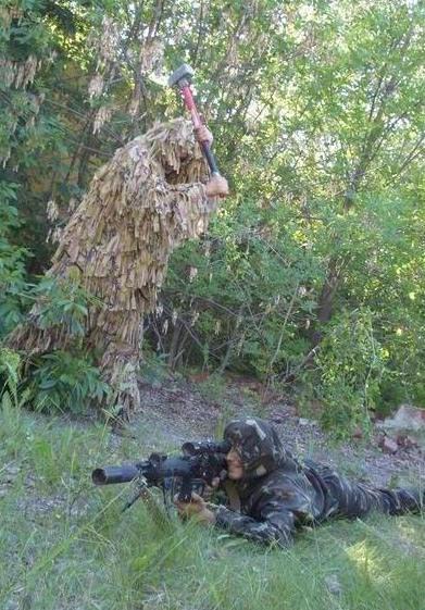 Засада - эффективный метод борьбы со снайперами