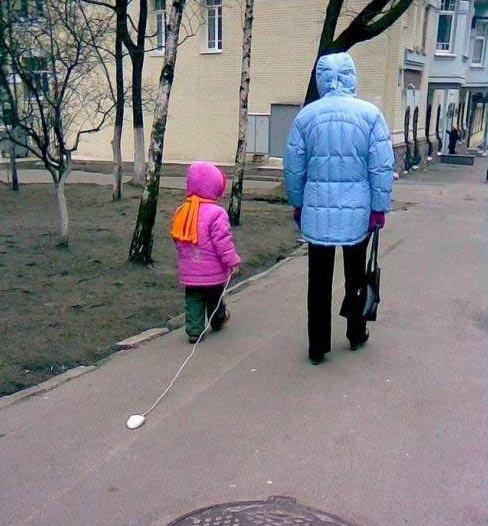 Так гуляют дети программистов