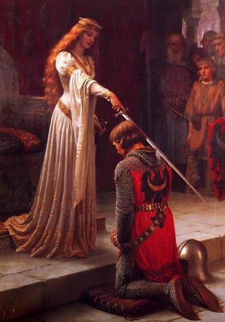 Рыцари шли на подвиги только ради дам. А ради