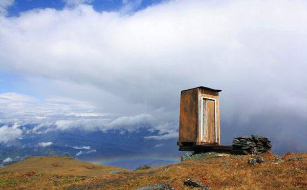 Мой туалет с краю