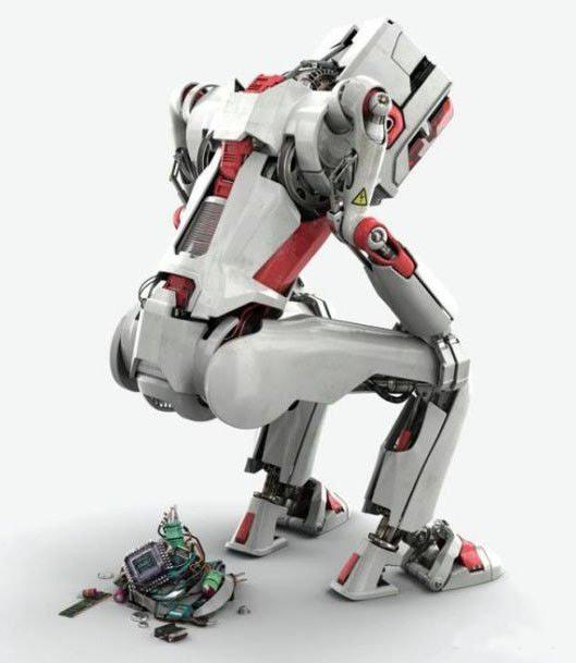 Роботы, и те гадят