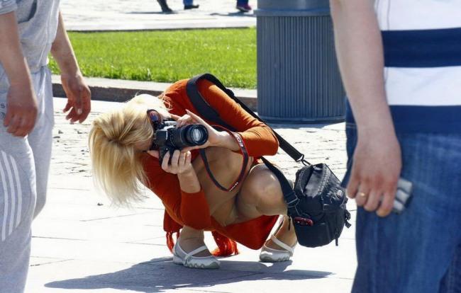 У фотографши есть тоже что сфотографировать