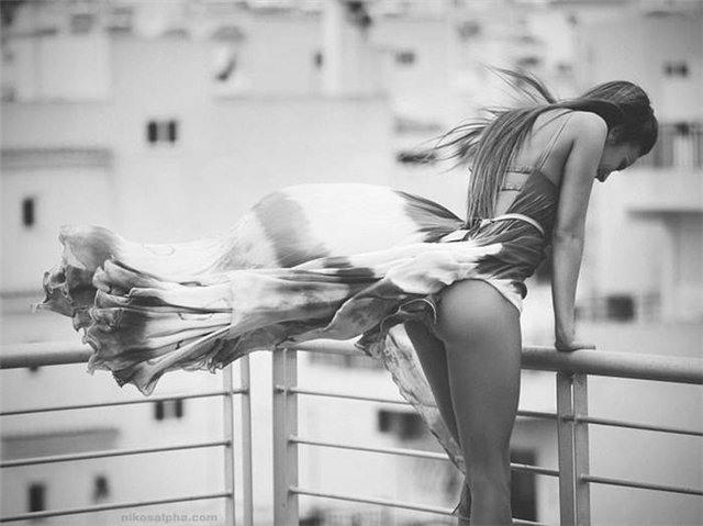 Шаловливый ветерок