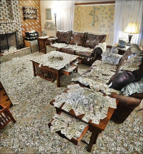 Квартира где деньги лежат по Ильфу и Петрову