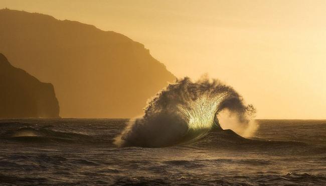 Волны на рассвете