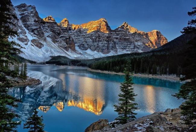 Красота зимних гор