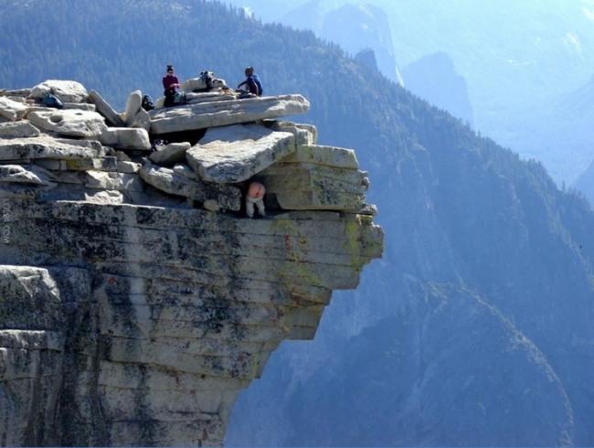 Жопа в горах