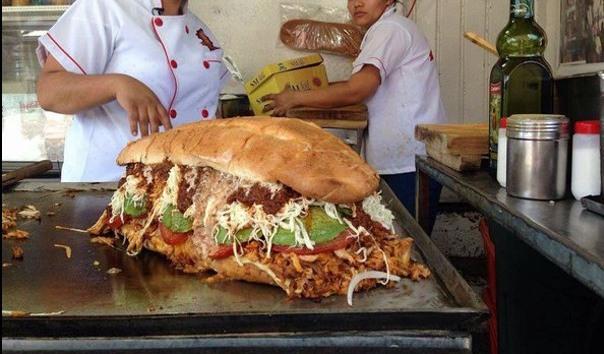 Мега сэндвич для похудения