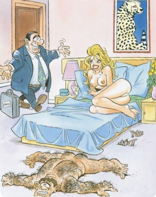 Новый коврик к приезду мужа