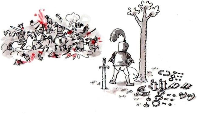 Отлив у рыцаря