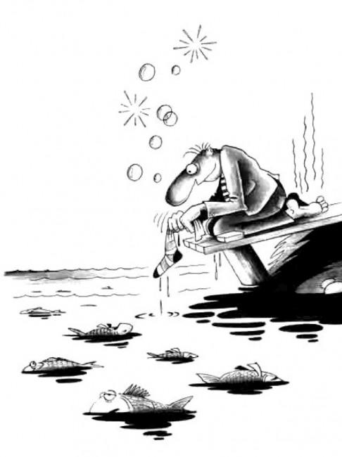 Ловля рыбы запрещенными методами