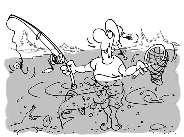 Как-то по особенному сегодня рыба клюет