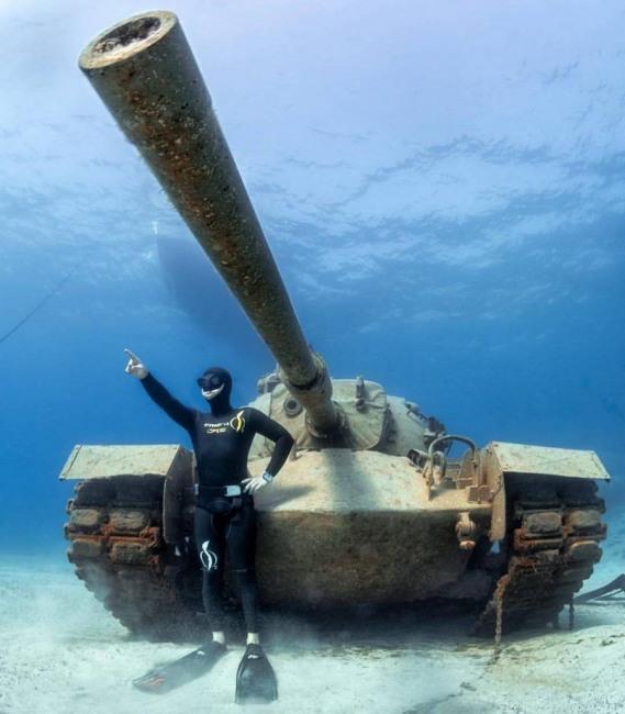 Подводный танк