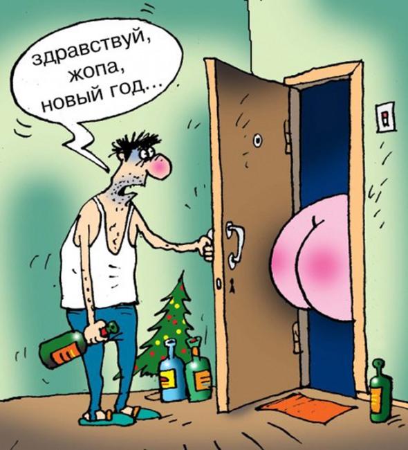 Здравствуй жопа, новый год ...