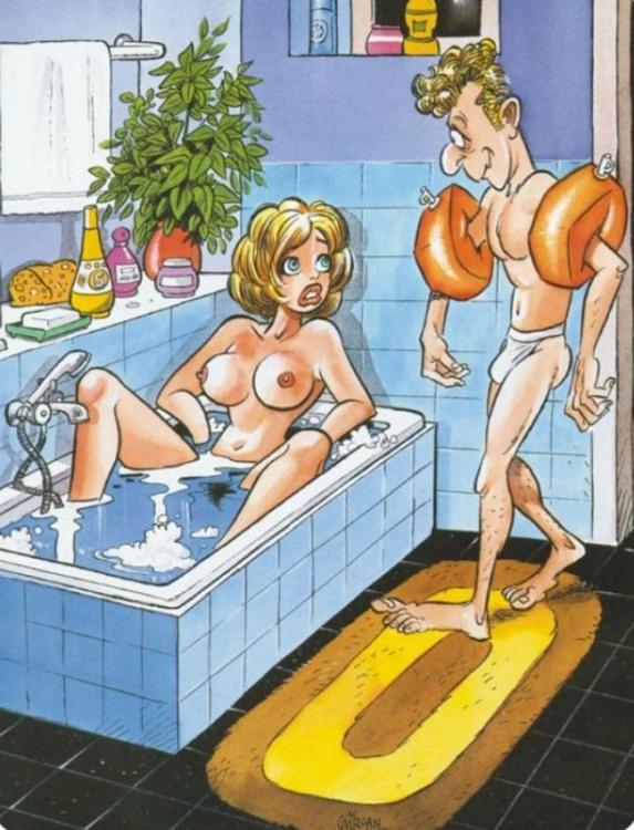 Принимаем ванну вместе
