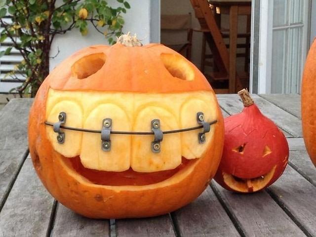 Хэллоуин с брекетами