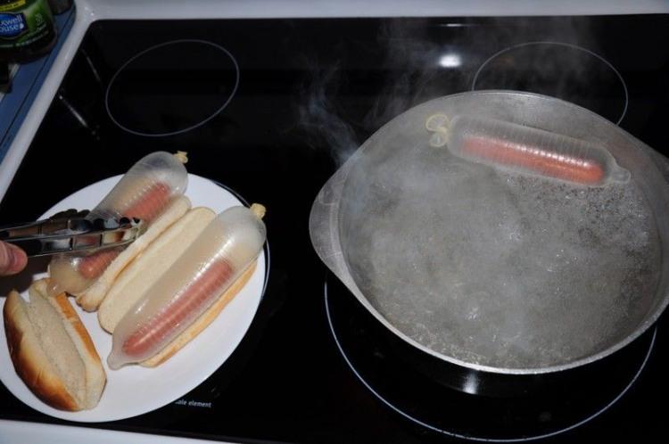 Новый способ приготовления хот-догов
