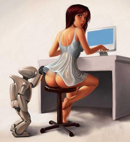 Любопытный робот