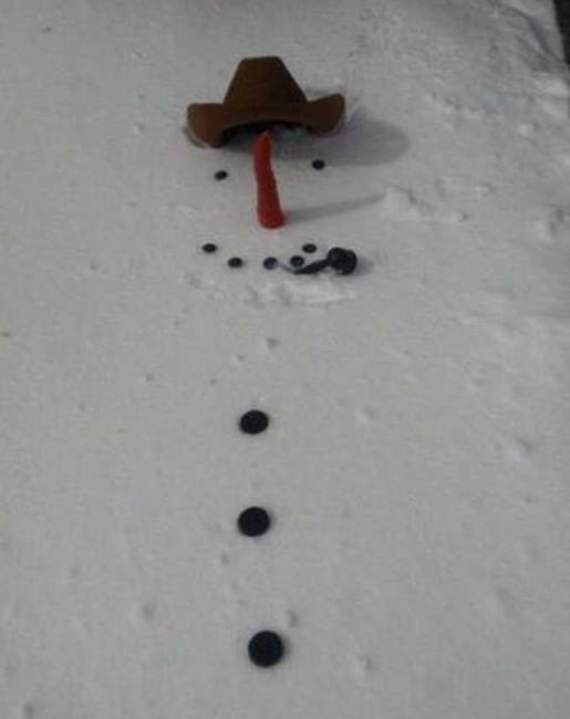 Снеговик 2D