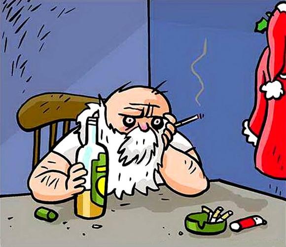 Дед мороз получил список моих пожеланий на новый год