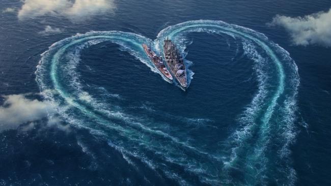 Военно-морская валентинка