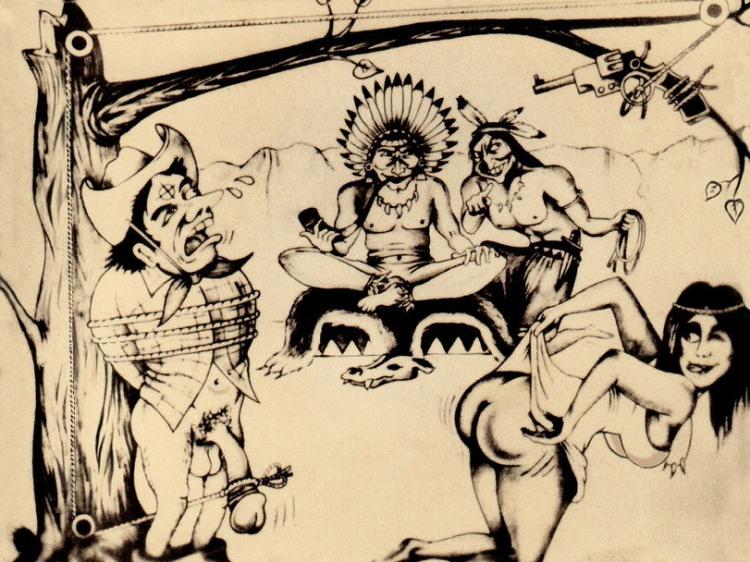 Изощренная индейская казнь