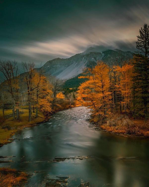 Золотая осень в горах