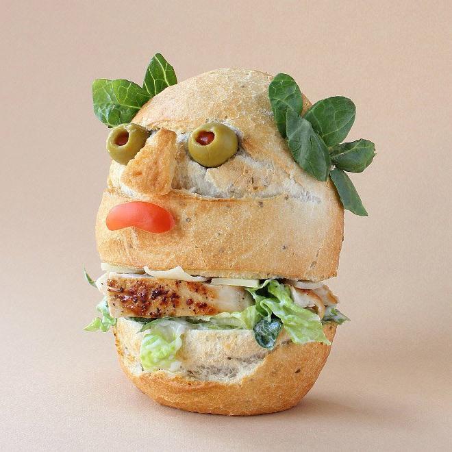 Бутерброд-цезарь