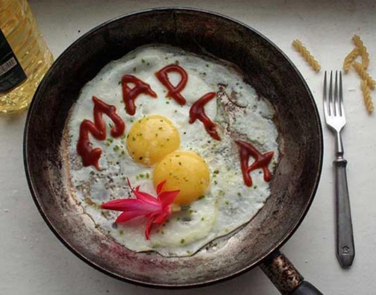 Завтрак  8 марта