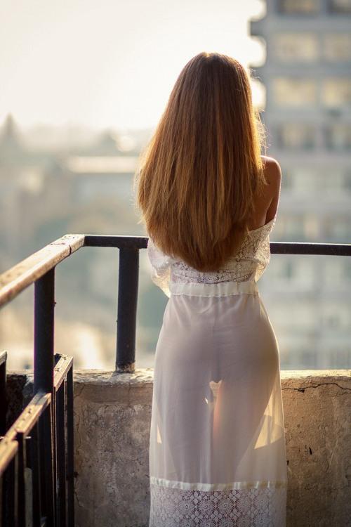 Эротичное прозрачное платье