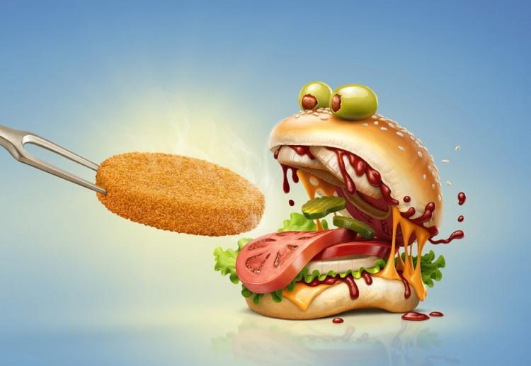 Голодный бургер