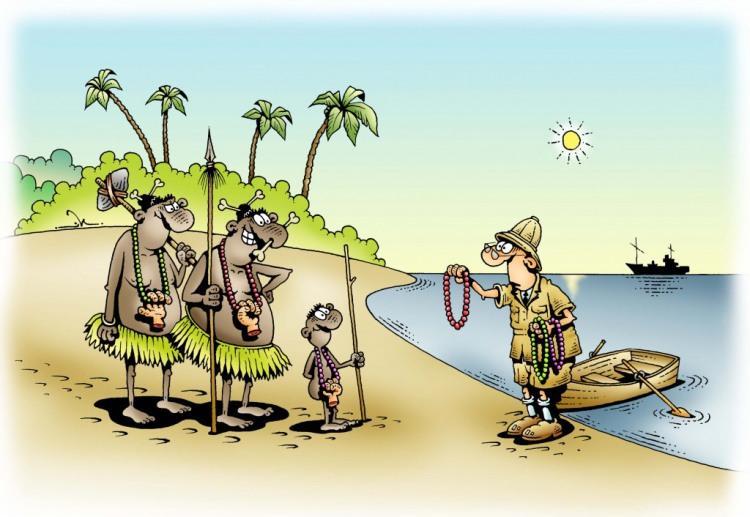 Контакт с аборигенами