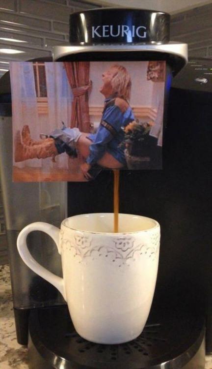 Кофеварка в нашем офисе