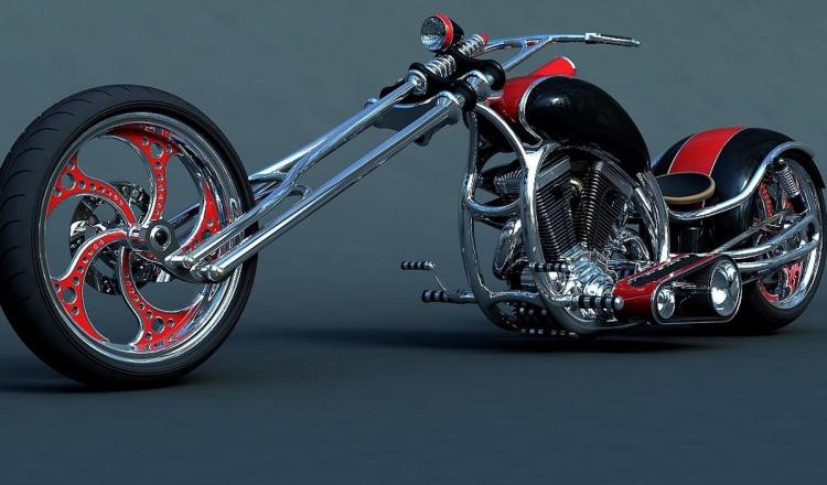 Стильный мотоцикл