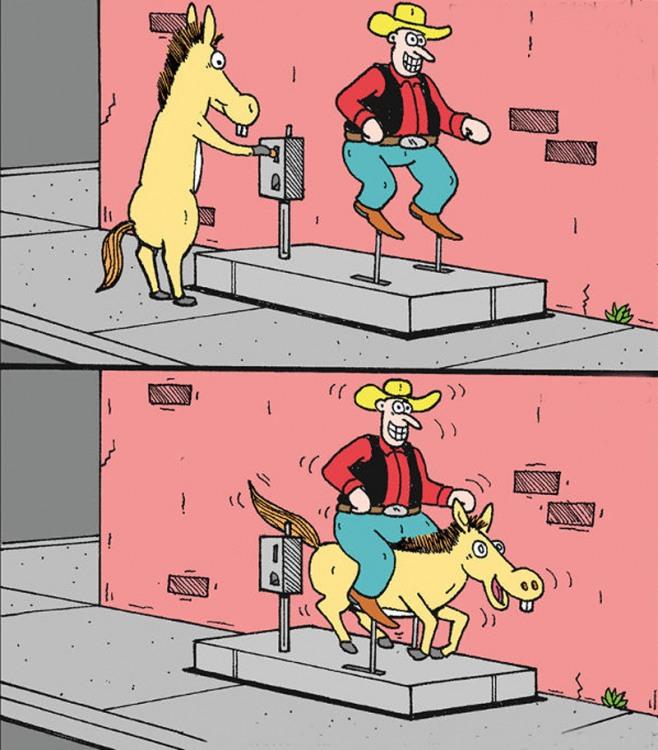 Карусель для лошади