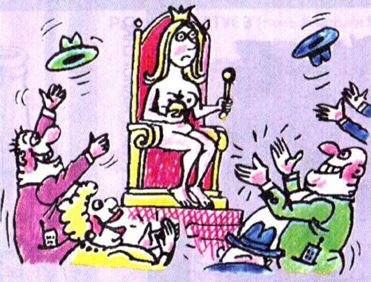 Голая королева