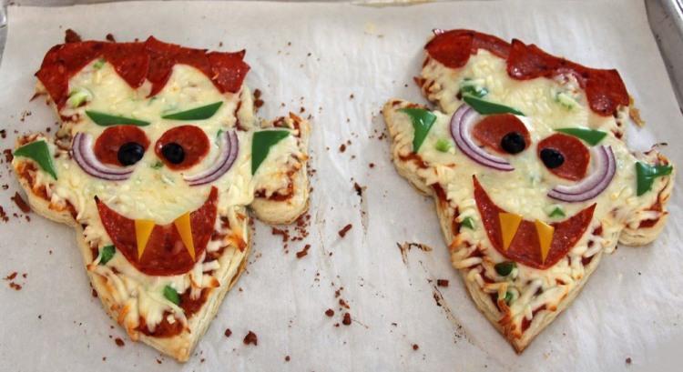 Веселая пицца