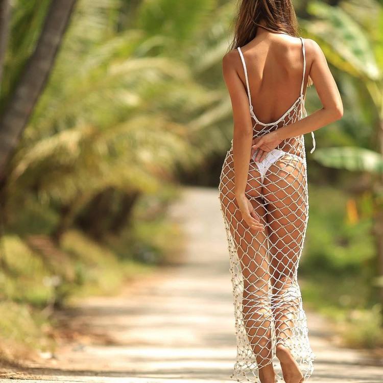 Платье сетка для жаркой погоды