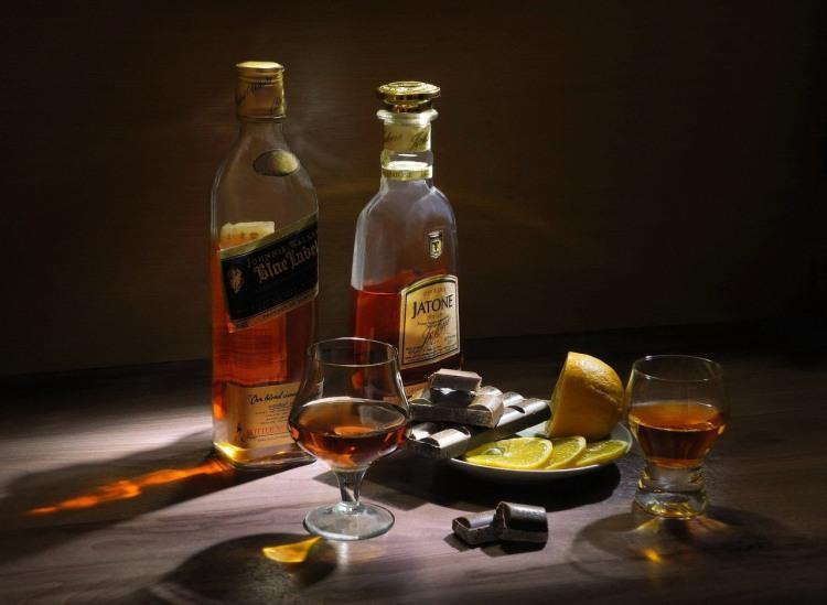 Натюрморт с виски