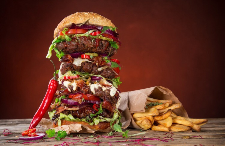 Мега бургер