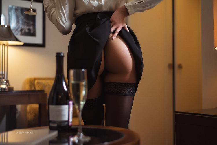 Намек на интимное продолжение романтичного вечера от девушки