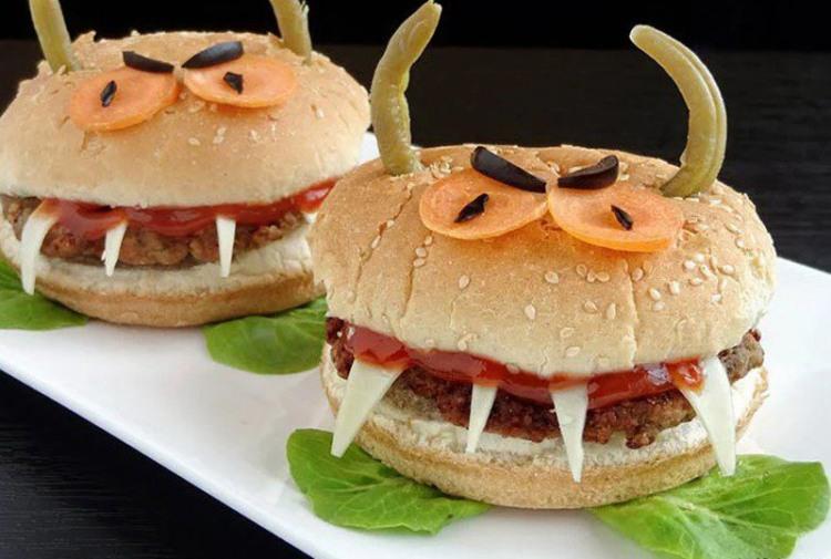 Гамбургеры вампиры