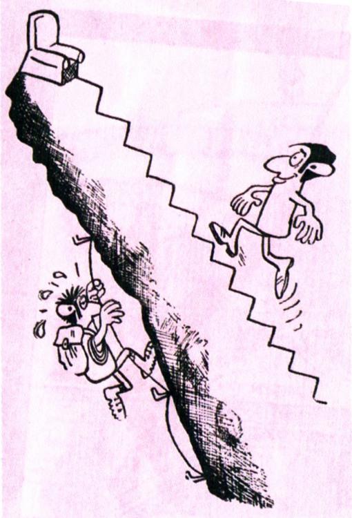 Разные пути карьерной лестницы