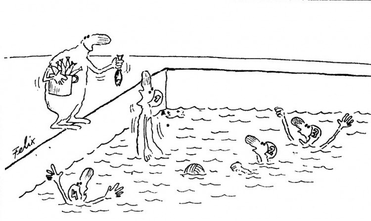 Стимулирование пловцов