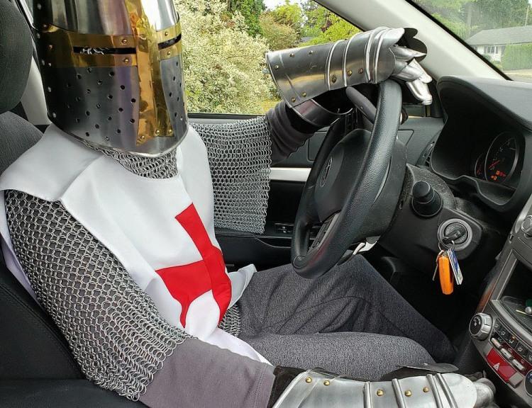 Рыцарь за рулем