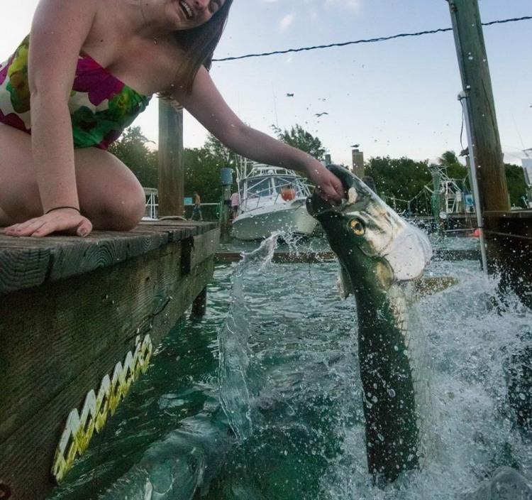 Ловля рыбы на руку