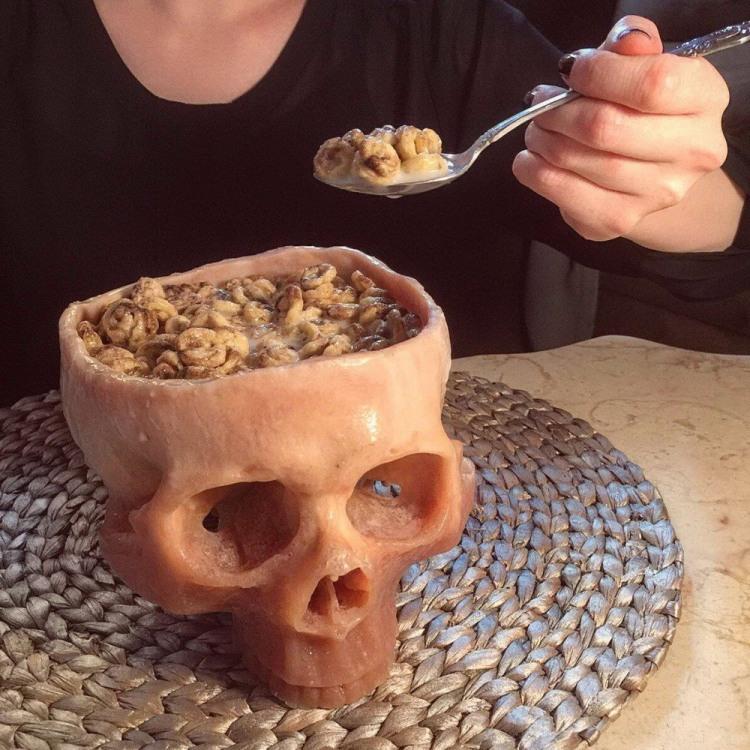 Завтрак из черепа