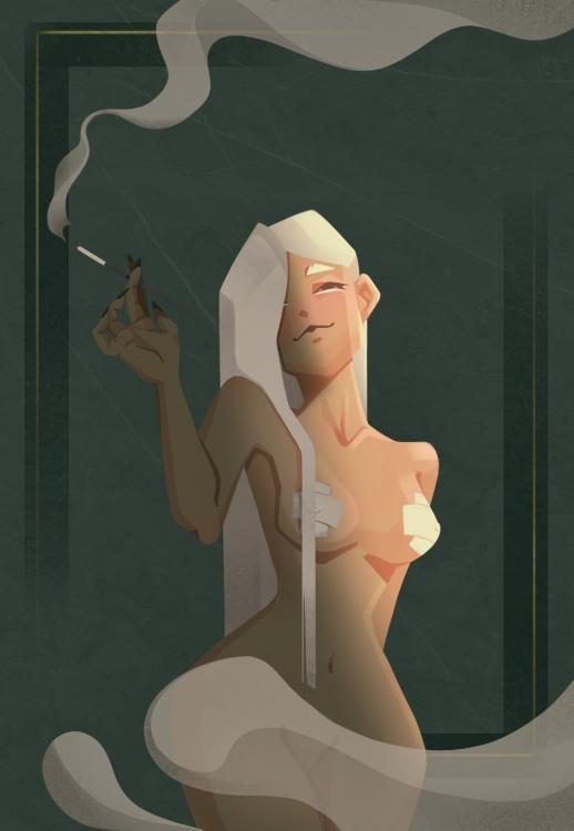 Эротика в дыму